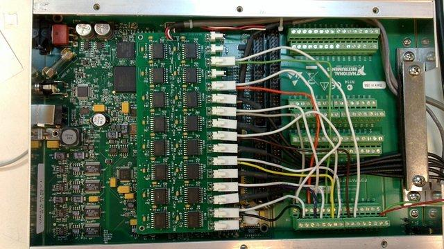 Butterworth filter embedded into National instruments  DAQ